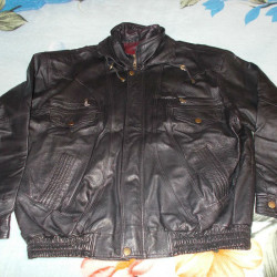 01 Motorbike leather jacket