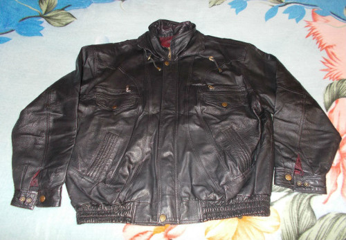 01 Motorbike leather jacket